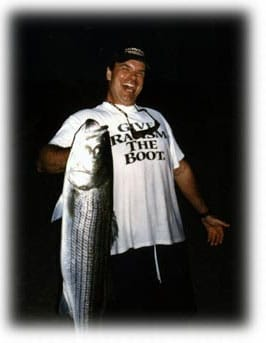 Maine Striper Fishing: Johan
