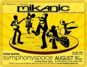 Mikanic at Symphony Space