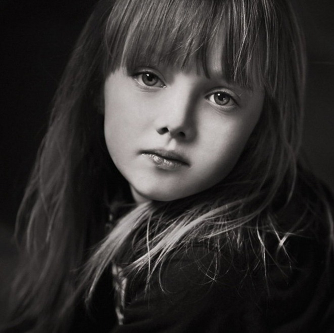 Black And White Gothic Wallpaper Portrait Photography Of Baby Angels Great Inspire