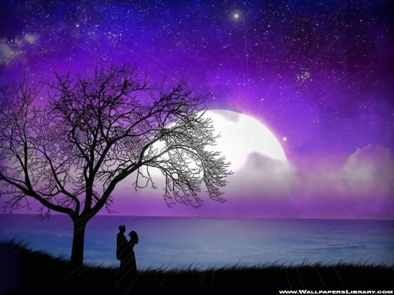 Love Cute Wallpapers For Mobile Beautiful Romantic Moonlight Hd Wallpapers Great Inspire