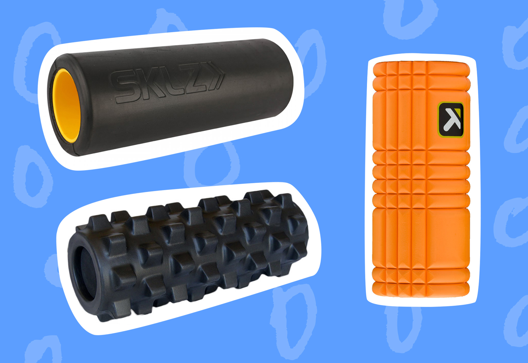 Different Types Of Foam How To Choose The Right Foam Roller Greatist