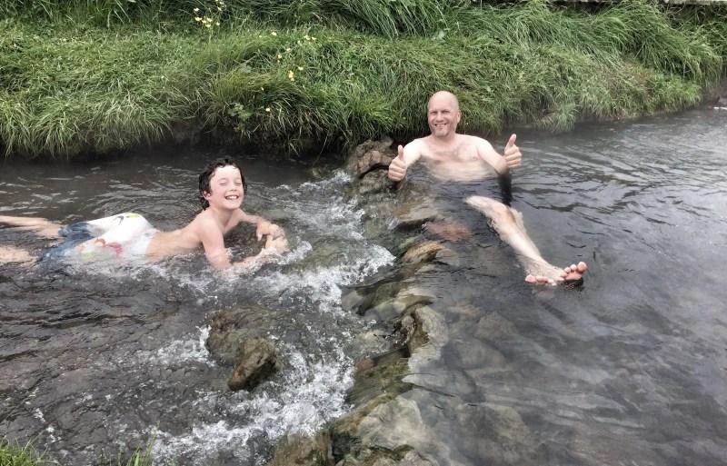 Kasm & Bruce - Hot Spring River