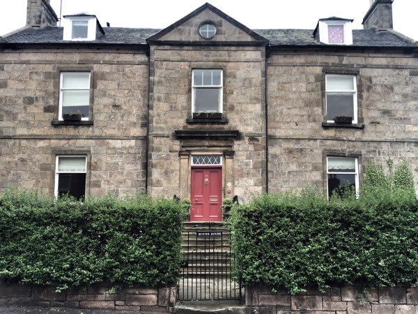 Our Apartment in Forres, Scotland