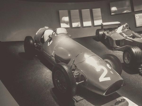 The First Ferrari F1