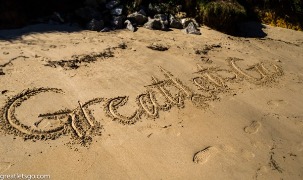 Inland beach Spain