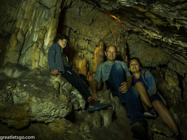 Family Cave Spain Basque