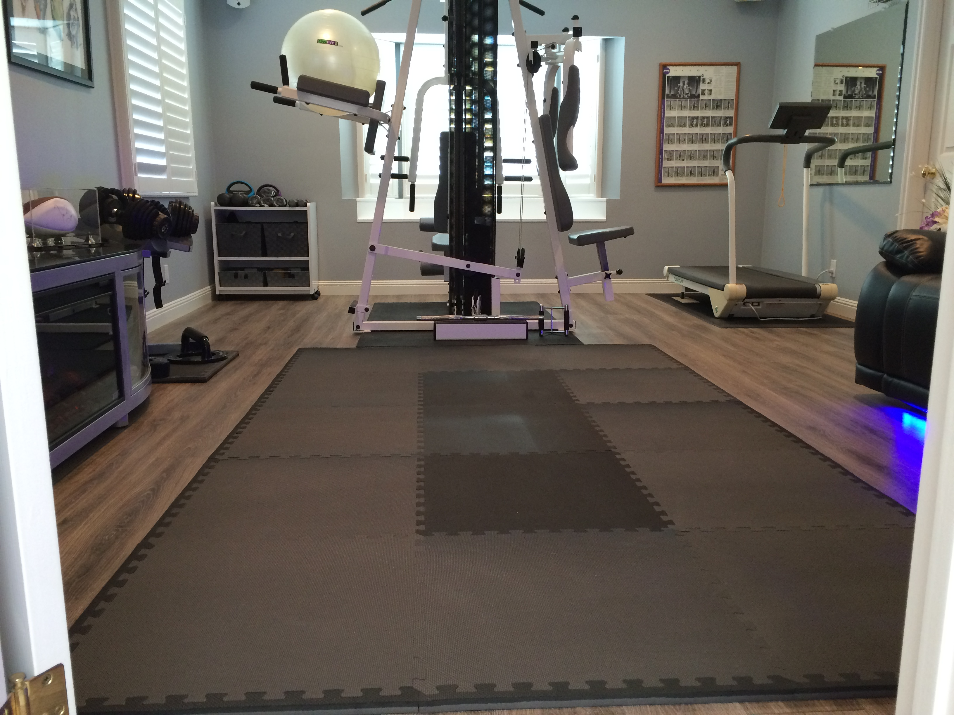 Gym Mat Flooring Best Home Gym Mats Comparing Mats For Home Gyms