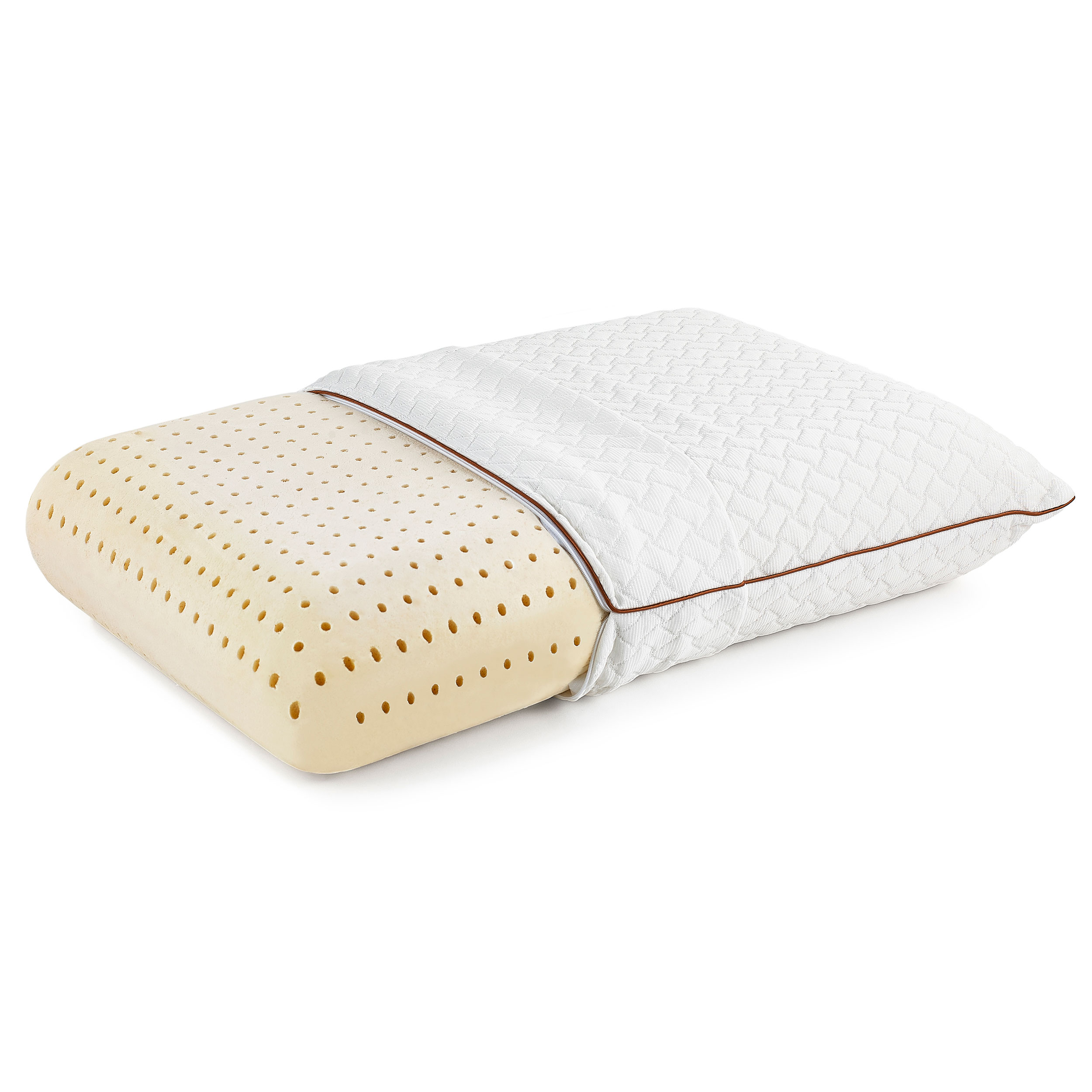 Gel Infused Memory Foam Pillow Great Sleep Copper Gel Coolflow Memory Foam Pillow Great Sleep