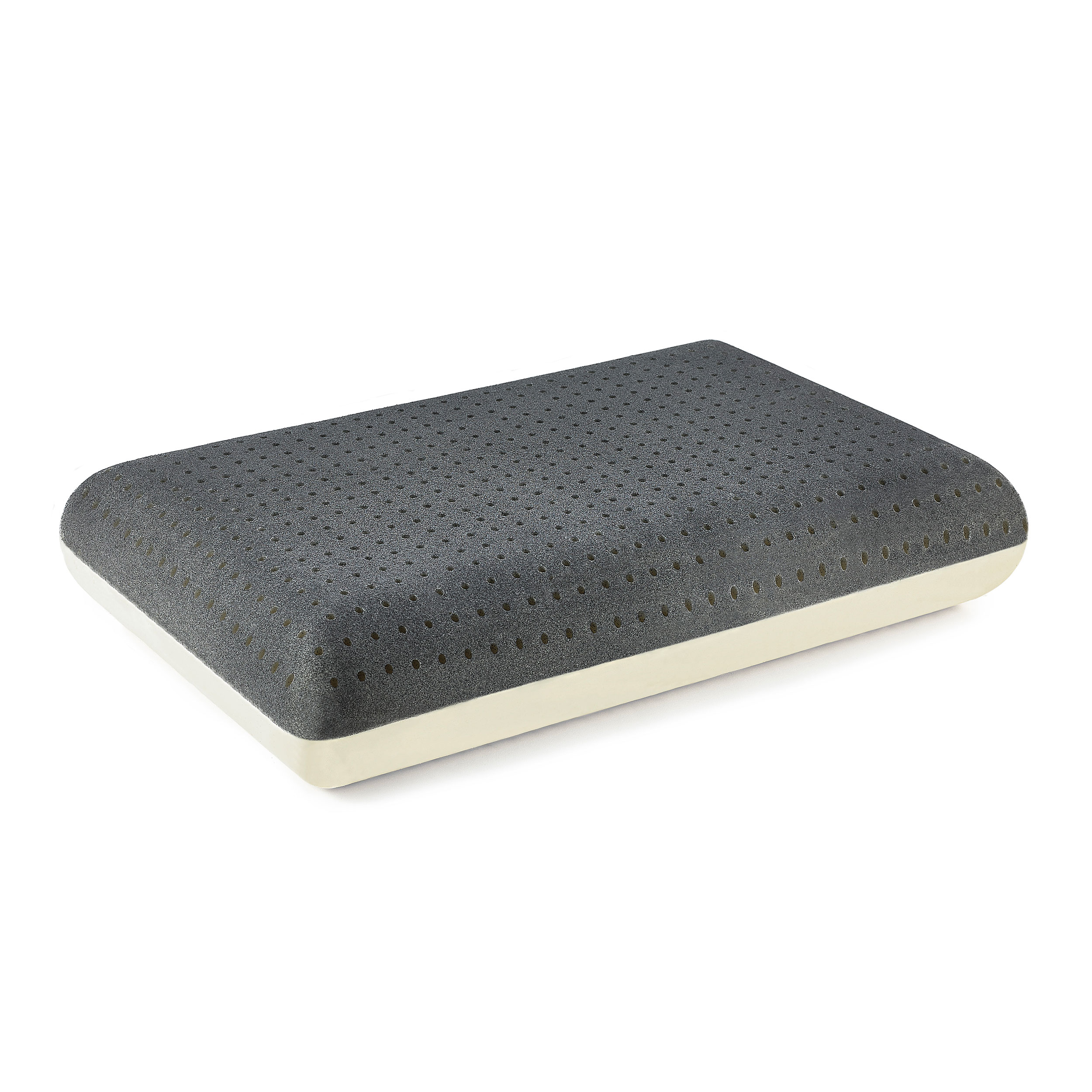 Gel Infused Memory Foam Pillow Great Sleep Silver Gel Coolflow Memory Foam Pillow Great Sleep