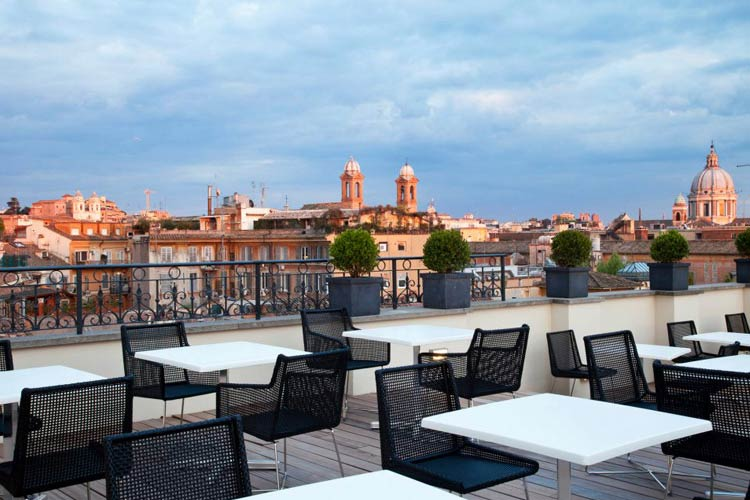 Hotel Intercontinental Porto The First Luxury Art Hotel Roma, A Boutique Hotel In Rome