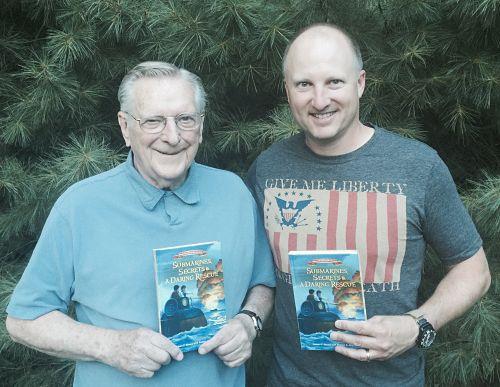 Rob Skead with his dad
