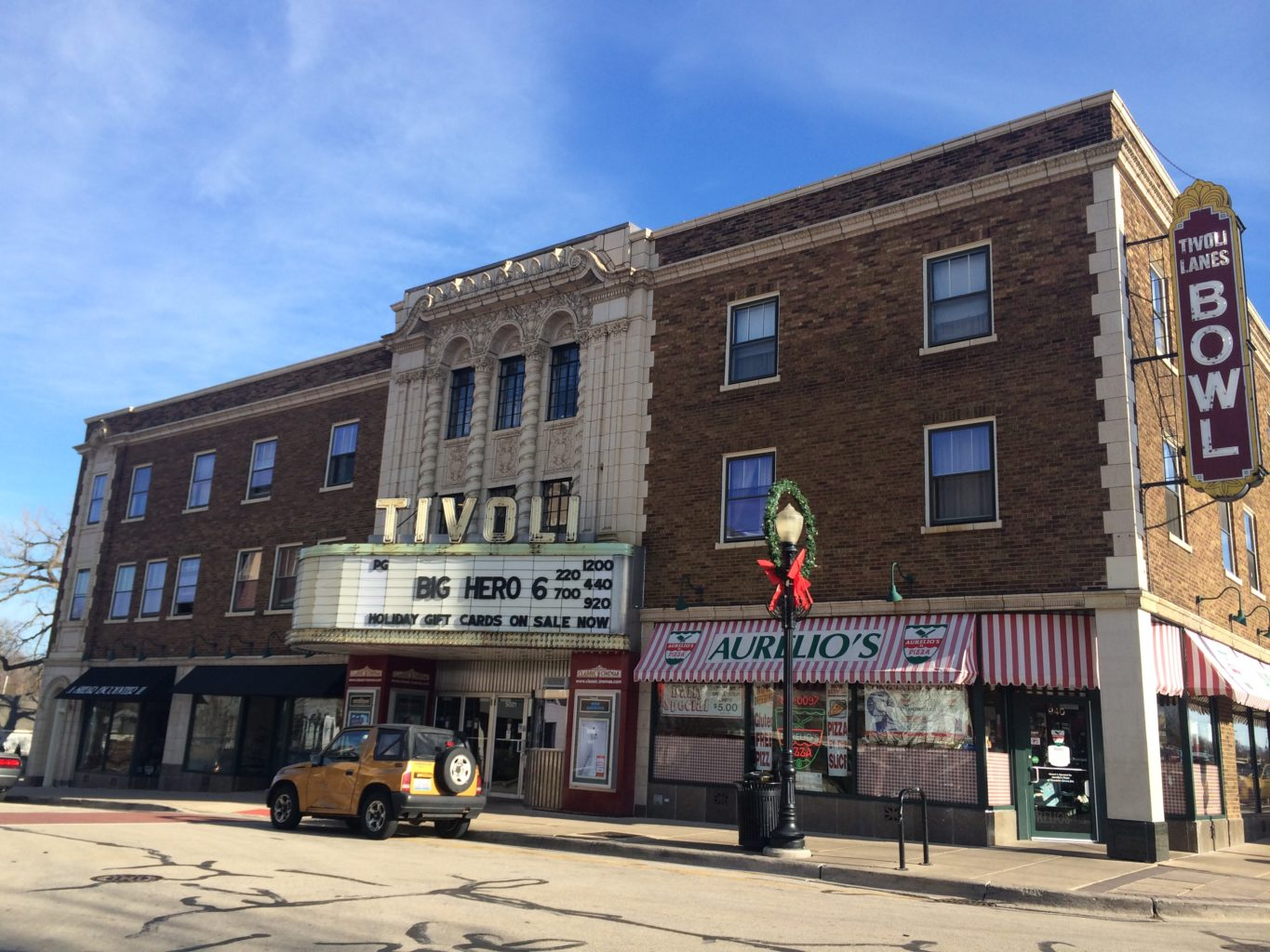 Tivoli Theatre In Downers Grove Il Great Theaters Of America Original History Travel Tv Series