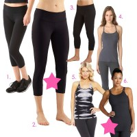My Essentials | Yoga/Barre Clothing (updated 8/12/2014)