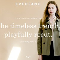 Sneak Peek // Everlane Trench