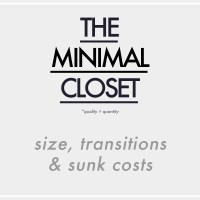 The Minimal Closet : Size, Transitions & Sunk Costs