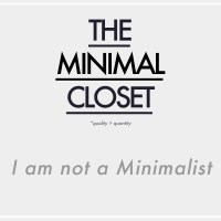 The Minimal Closet : I am not a Minimalist