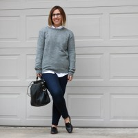 Outfit | Zady Wool Sweater Review