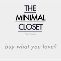 The Minimal Closet : Buy what you love?