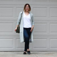 Outfit | James Perse Long Cardigan