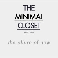 The Minimal Closet | The Allure of New