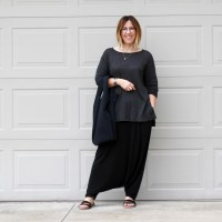 Outfit | Everlane Long Sleeve Linen Tee