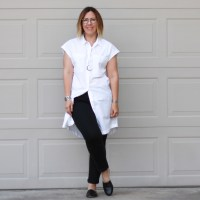 Outfit | Everlane Shirt Dress
