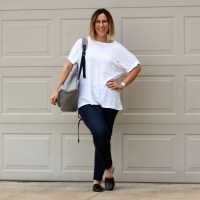 Reviews | Zady Linen tee + Everlane Modern Backpack