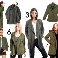 Fall Shopping | Olive Utility Jackets