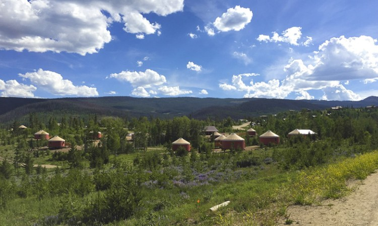 YMCA Snow Mountain Ranch: New Yurt Village and Fun Fall Activities