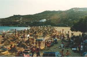 Super Paradise beach in Mykonos
