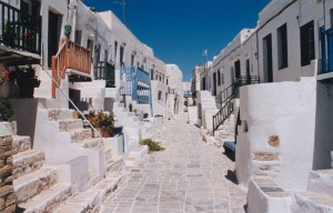 the colours in Hora, Folegandros