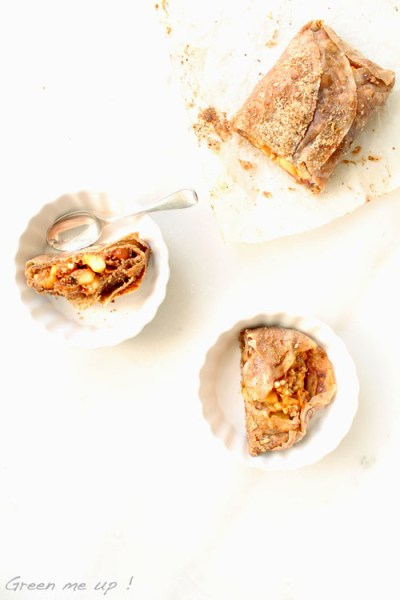 strudel pommes fenouil figues sans gluten végétalien