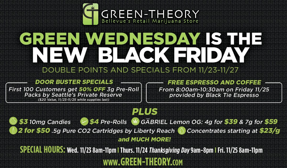 Black Friday Sale Black Friday Specials Green Theory