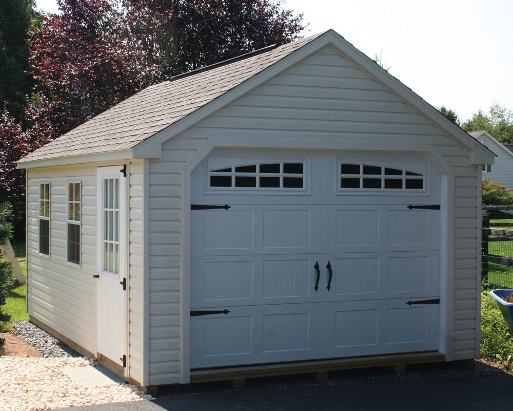 Garage For Rent Easton Pa Custom Vinyl Detached Garages In The Lehigh Valley