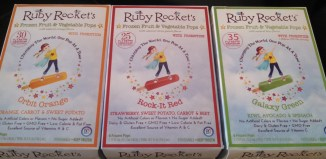 Ruby Rockets a Healthy Summer Treat