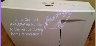 Luma Comfort AP400W Air Purifier Review