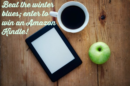 Beat the winter blues; enter to win an Amazon Kindle! #giveaway #win