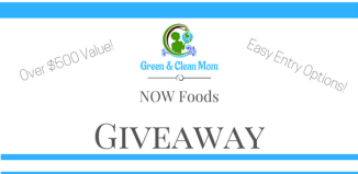 NOW Foods Mega Giveaway Over $500 Value