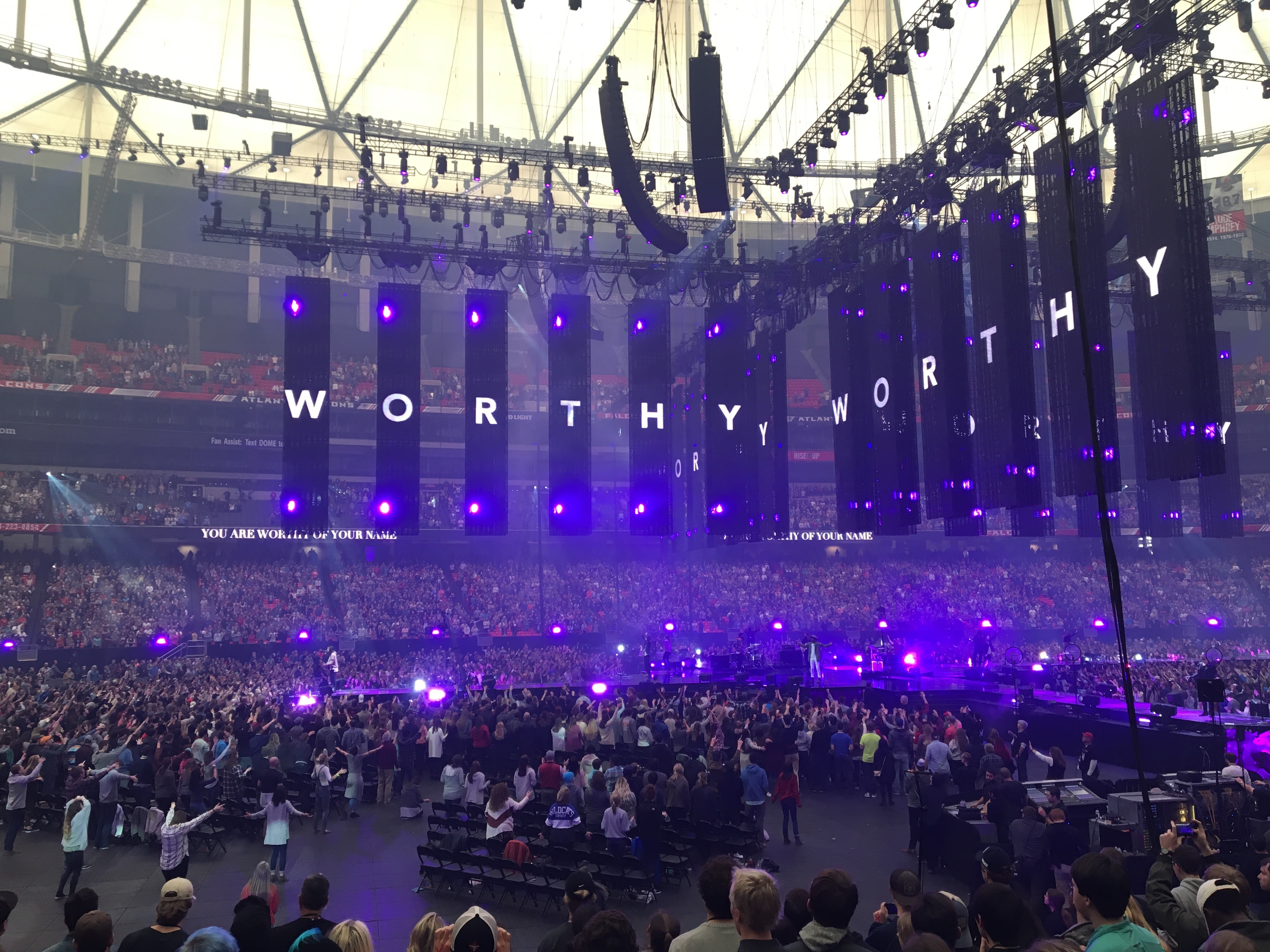 The Passion 2017 Passion 2017 Makes History In The Georgia Dome Green And