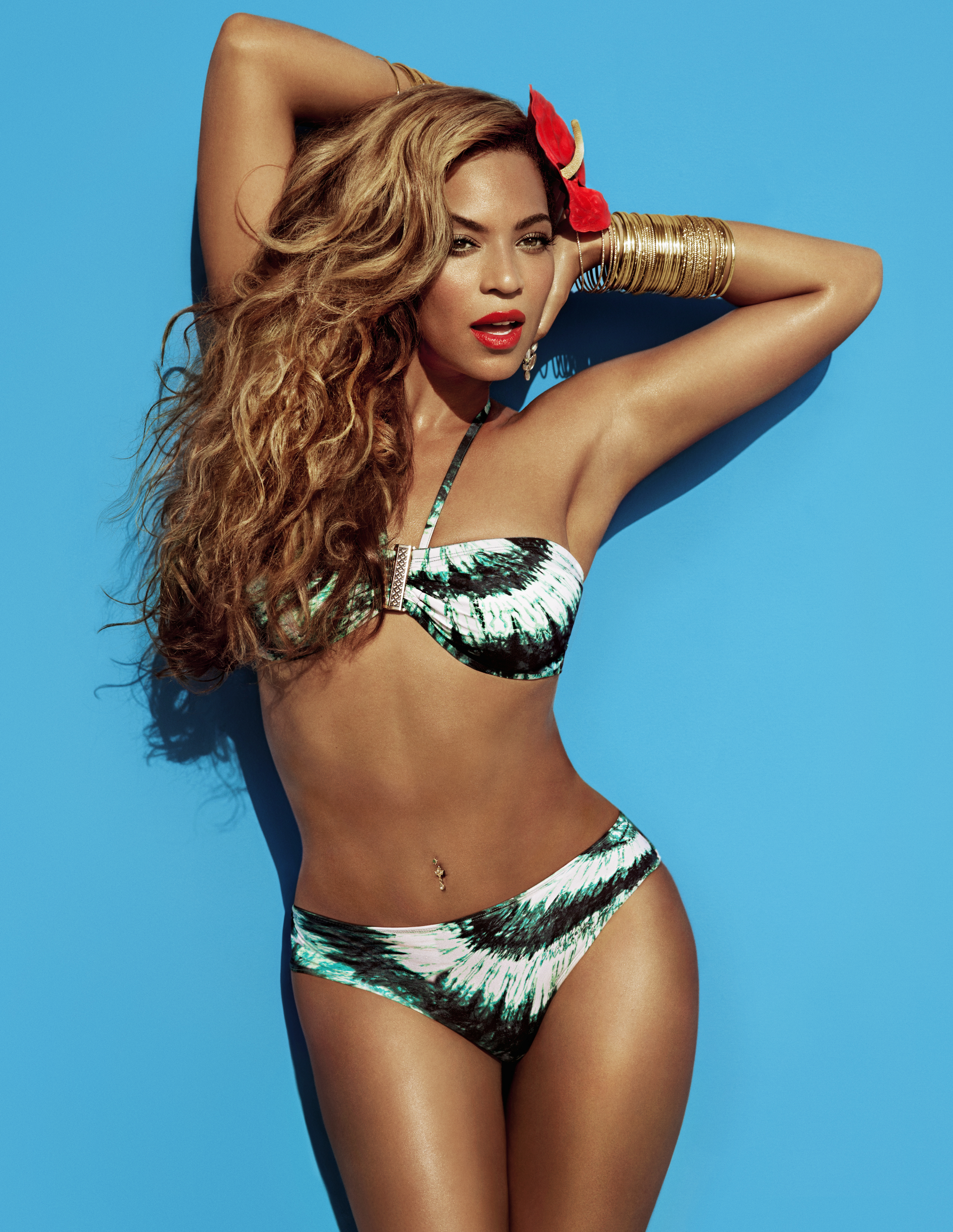 H And M Nl Beyoncé Sexy In H Andm For Water Bikini Green And The Cities