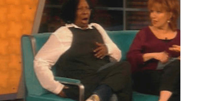 whoopi farts