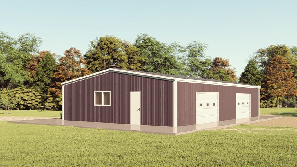 40x60 Metal Building Package Compare Prices Options - Dekokissen 40 X 60