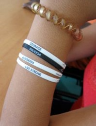 A child's wrist, Palma Soriano orphanage