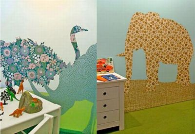 10 creative wallpapers made using recycled materials - Green Diary - Green Revolution Guide by ...