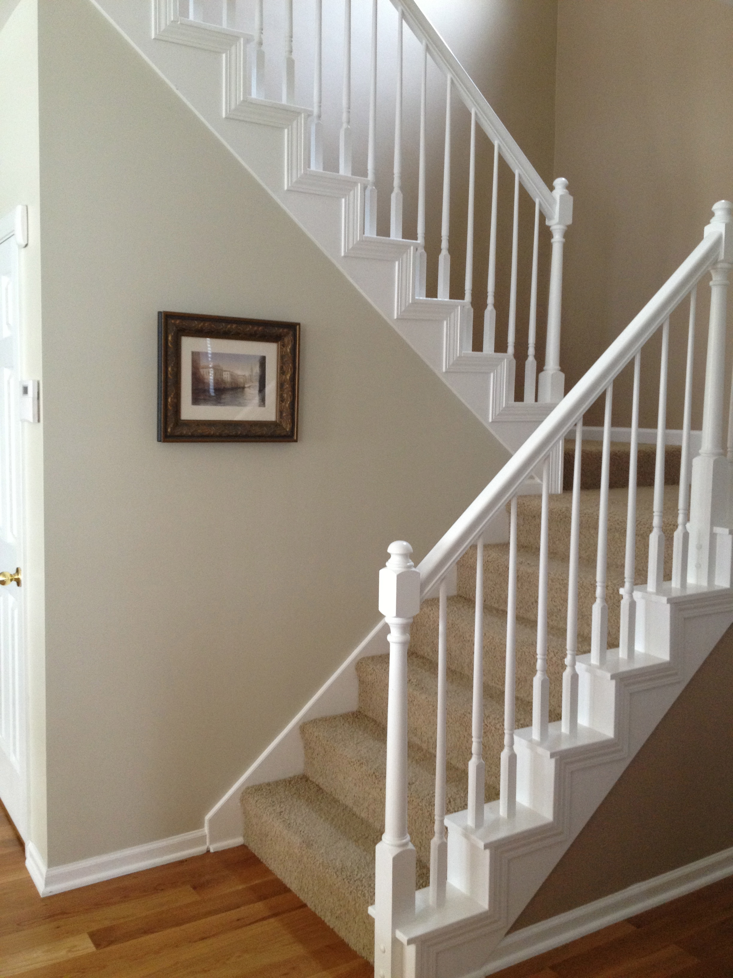 Home Tour The Staircase And Hallway Green Door Design Co