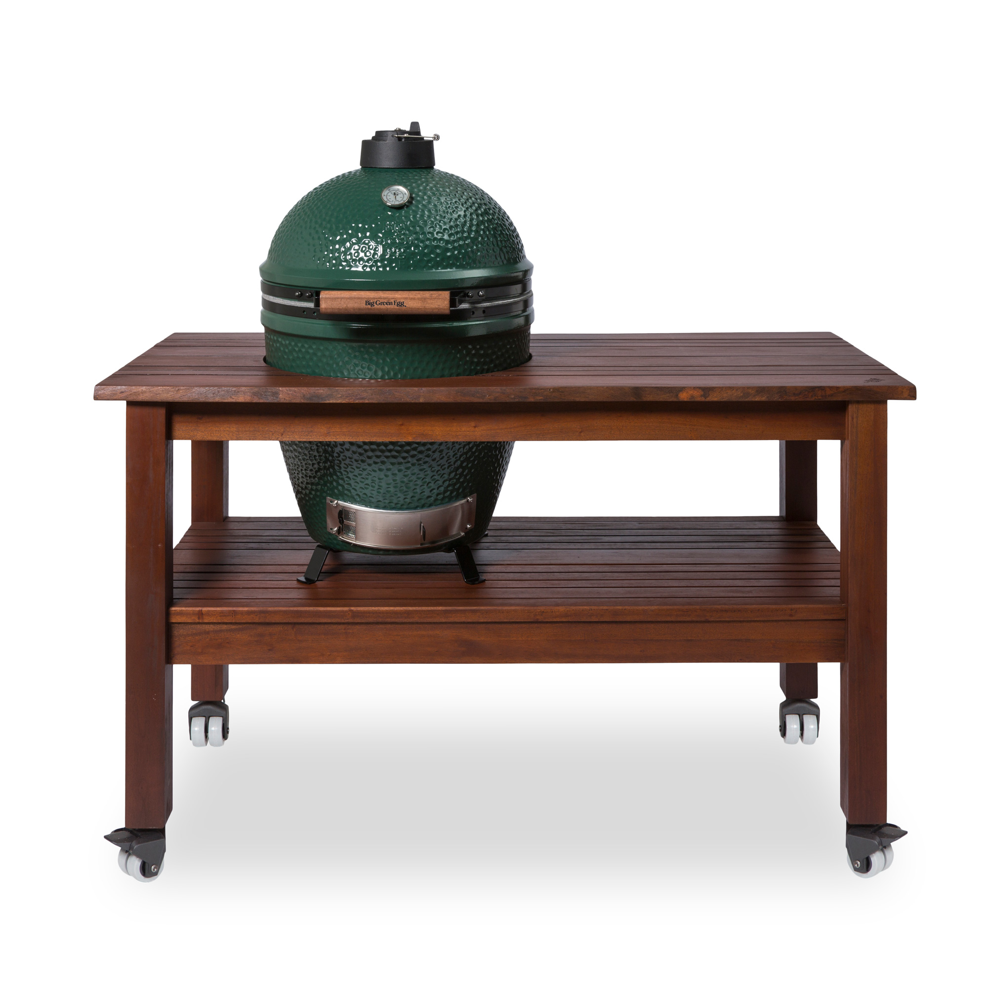 Outdoor Küche Mit Green Egg Royal Mahongani Tisch Für Large Online Shop Big Green