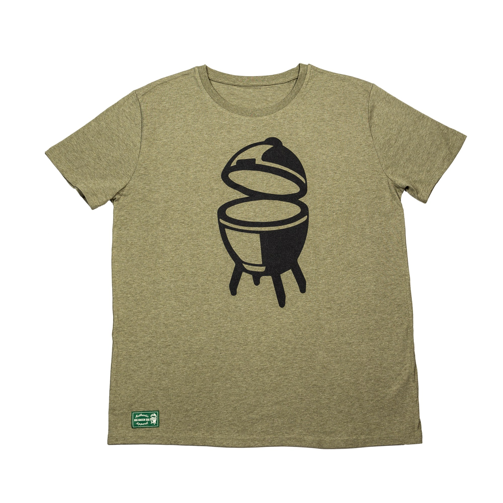 Outdoor Küche Mit Green Egg Bge T Shirt Olive Online Shop Big Green Egg Schweiz