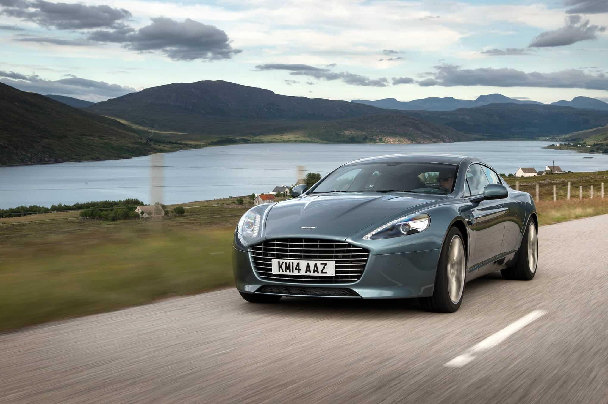 Aston DB11 leaked in full