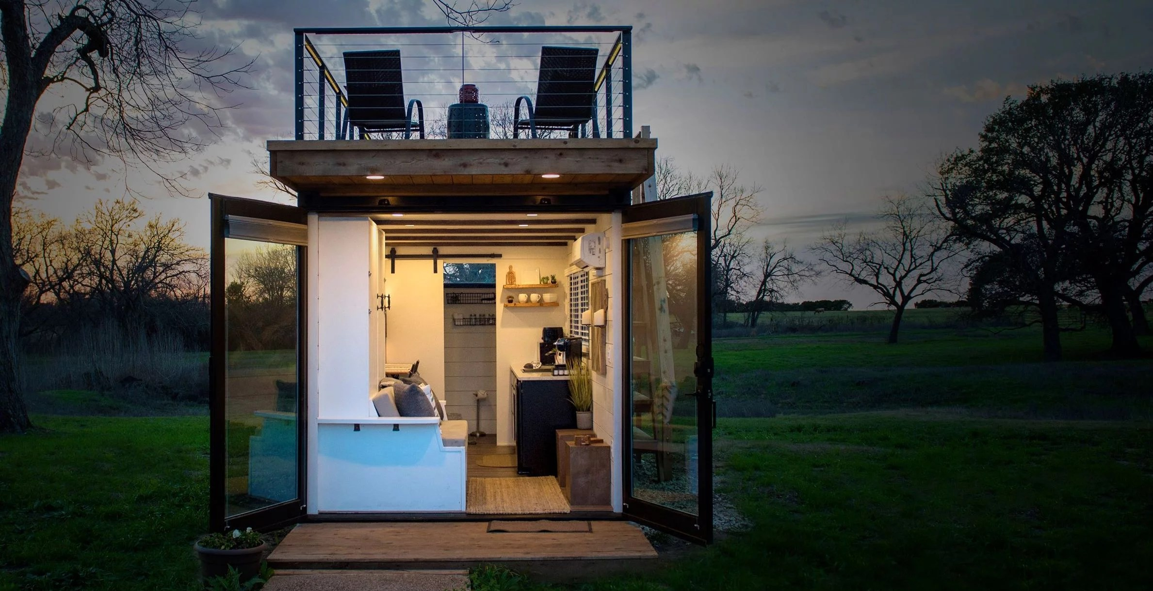 Cargohome Tiny House Aus Alten Seecontainern