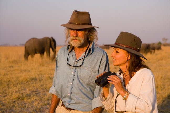 Dereck and Beverly Joubert of Great Plains Conservation